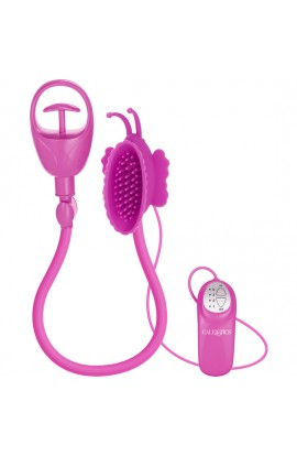 BUTTERFLY CLITORAL PUMP PINK - Imagen 1