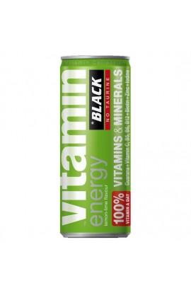 BLACK SEX ENERGY BEBIDA ENERGETICA LIMA Y LIMON - Imagen 1