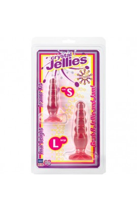 CRYSTAL JELLIES KIT ANAL ROSA - Imagen 1