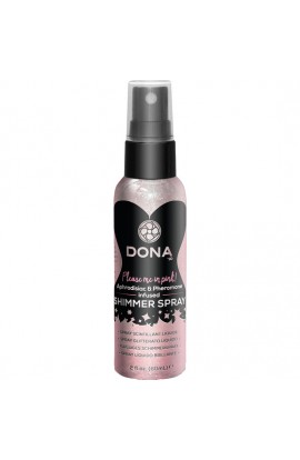 DONA SPRAY LIQUIDO BRILLANTE ROSA 60 ML - Imagen 1