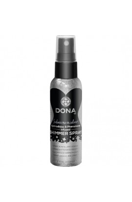 DONA SPRAY LIQUIDO BRILLANTE PLATA 60 ML - Imagen 1