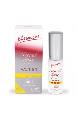HOT SPRAY DE FEROMONAS NATURAL INTENSO PARA MUJERES 5 ML - Imagen 1