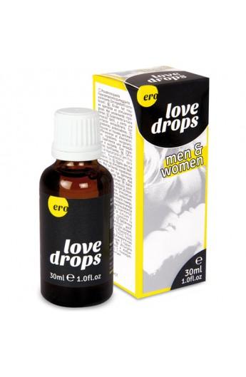 ERO LOVE DROPS FOR MEN AND WOMEN 30 ML - Imagen 1