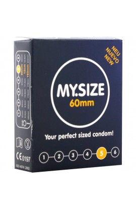 MY SIZE PRESERVATIVOS 60 MM 3 UDS - Imagen 1