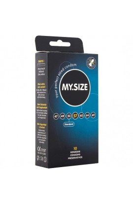 MY SIZE PRESERVATIVOS 57 MM 10 UDS - Imagen 1
