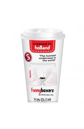 FUNNY BOXERS FINISH BLANCO - Imagen 1