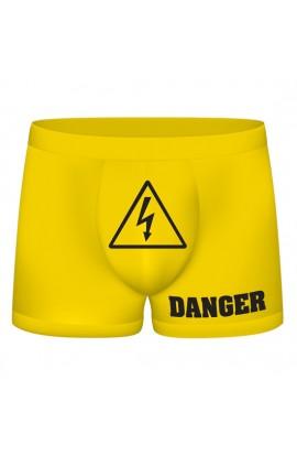 FUNNY BOXERS DANGER AMARILLO - Imagen 1