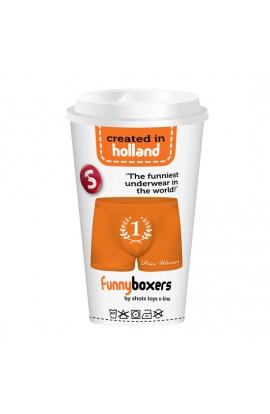 FUNNY BOXERS PRICE WINNER NARANJA - Imagen 1
