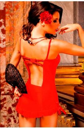 BACI CAMISA DE RED CON ENCAJE - Imagen 1
