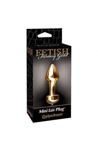 FETISH FANTASY GOLD MINI PLUG - Imagen 1
