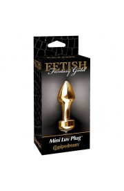 FETISH FANTASY GOLD MINI PLUG
