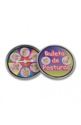 RULETA DE POSTURAS - Imagen 1