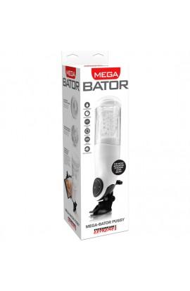 PDX MEGA BATOR USB MASTURBADOR MASCULINO VAGINA BLANCO - Imagen 1