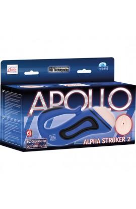APOLLO ALPHA MASTURBADOR 2 AZUL - Imagen 1