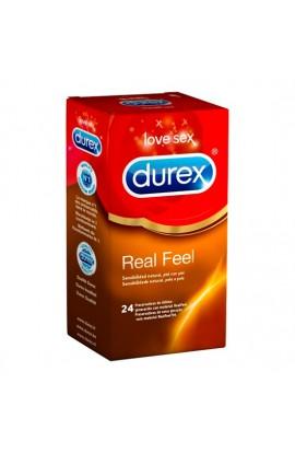 DUREX REAL FEEL 24 UDS - Imagen 1