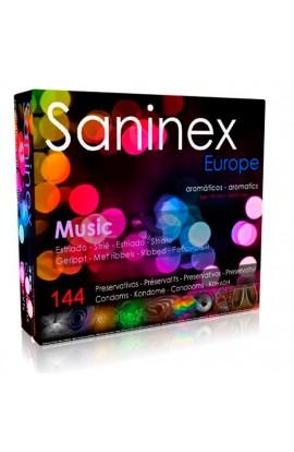 SANINEX MUSIC ESTRIADO AROMATICO FRUTAL 144 UDS - Imagen 1