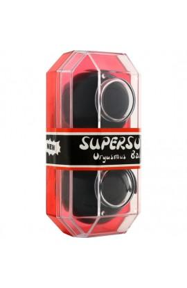 SUPERSOFT BOLAS ORGASMICAS NEGRAS - Imagen 1