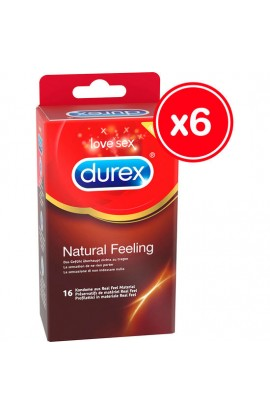 DUREX NATURAL FEELING 16 UDS (6 CAJAS) - Imagen 1
