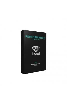PRESERVATIVOS LEVEL PERFORMANCE CONDOMS - 24UDS - Imagen 1