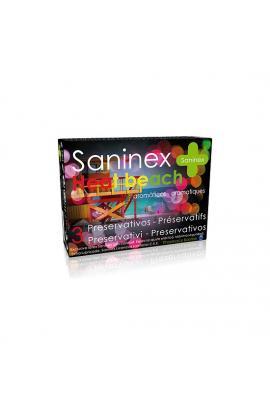 SANINEX PRESERVATIVOS HEAT BEACH 3UDS - Imagen 1
