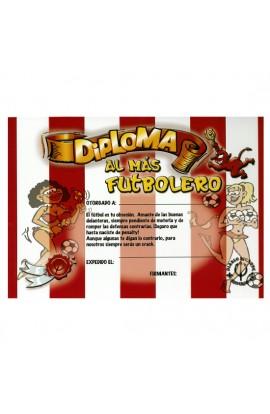 DIPLOMA AL FUTBOLERO ROJI-BLANCO - Imagen 1