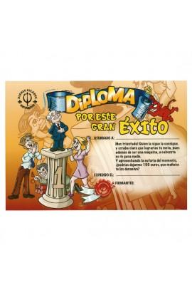 DIPLOMA POR ESTE GRAN EXITO - Imagen 1