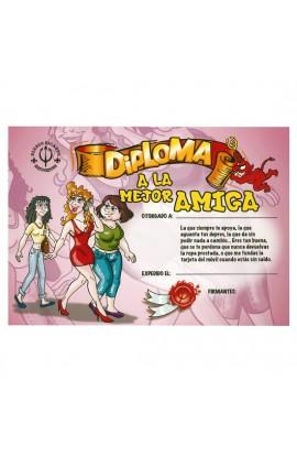 DIPLOMA A LA MEJOR AMIGA - Imagen 1