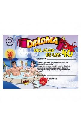 DIPLOMA 40 AÑOS - Imagen 1