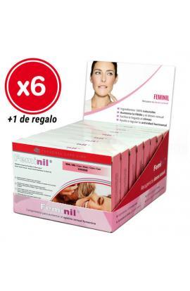 FEMINIL 30 CÁPSULAS - PACK 6 CAJAS + 1 DE REGALO - Imagen 1
