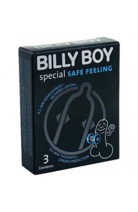 PRESERVATIVOS BILLY BOY SPECIAL SAFE FEELING 3UDS - Imagen 1