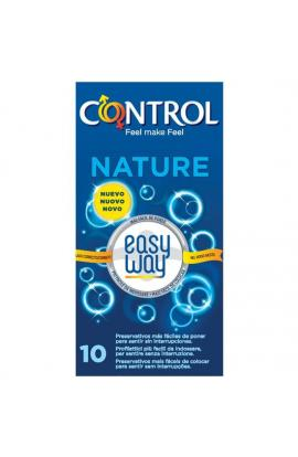 PRESERVATIVOS CONTROL NATURE EASY WAY SOLUTION 10UDS - Imagen 1