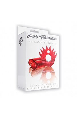 ZERO TOLERANCE THE FLAME THROWER ANILLO PENE 2 BALAS ROJO - Imagen 1