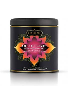 KAMASUTRA OIL OF LOVE THE COLLECTION SET - Imagen 1