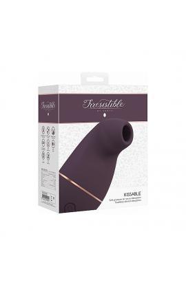 IRRESISTIBLE KISSABLE SUCCIONADOR - MORADO - Imagen 1