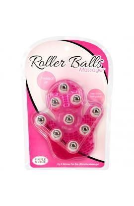 ROLLER BALLS MASAJEADOR - ROSA - Imagen 1