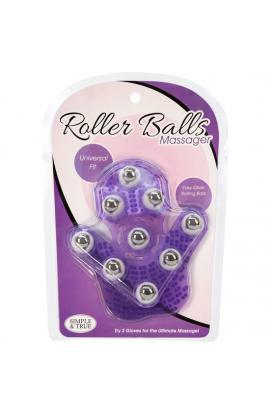 ROLLER BALLS MASAJEADOR - MORADO - Imagen 1