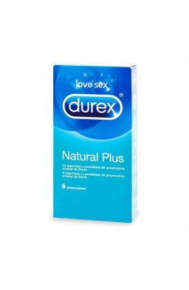 DUREX NATURAL PLUS 6 UDS - Imagen 1