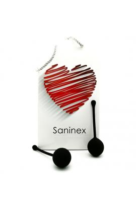 SANINEX CLEVER - INTELIGENTE ESFERA VAGINAL NEGRO - Imagen 1