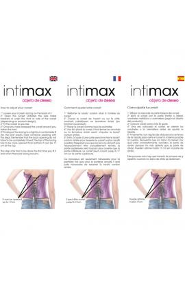 INTIMAX CORSET GEMINIS ROJO - Imagen 1