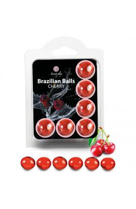 SET 6 BRAZILIAN BALLS CEREZA - Imagen 1