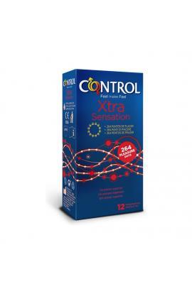 CONTROL PRESERVATIVOS SENSUAL XTRA DOTS 12 UDS - Imagen 1