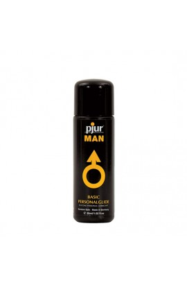 PJUR MAN BASIC LUBRICANTE PERSONAL SILICONA 30 ML - Imagen 1