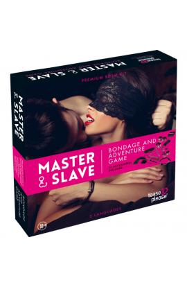 MASTER SLAVE KIT BDSM PARA PAREJAS ROSA - Imagen 1
