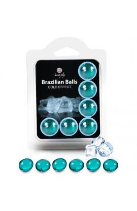 SECRET PLAY SET 6 BRAZILIAN BALLS EFECTO FRIO - Imagen 1