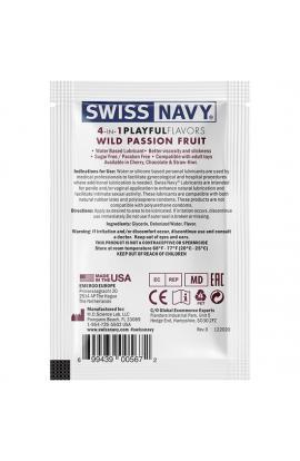 SWISS NAVY 4 IN 1 WILD PASSION FRUIT 5 ML - Imagen 1