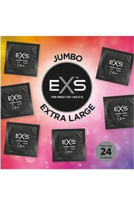 EXS PRESERVATIVOS JUMBO PACK - 24 CONDONES - Imagen 1