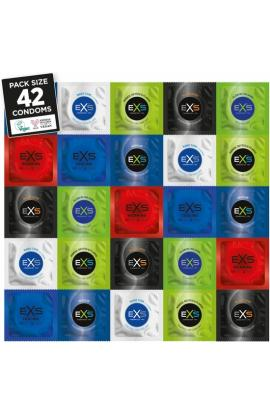 EXS PACK PRESERVATIVOS VARIEDAD - 42 UNDS - Imagen 1