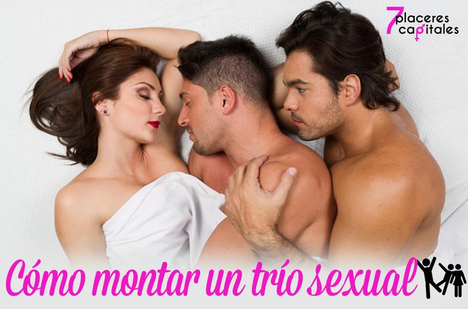 Consejos para montártelo muy bien durante un trío sexual 7 placeres